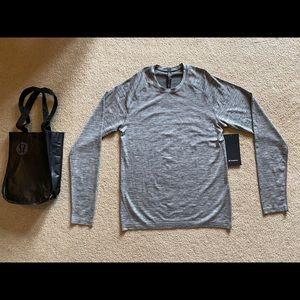 Men's Lululemon Grey Long Sleeve NWT